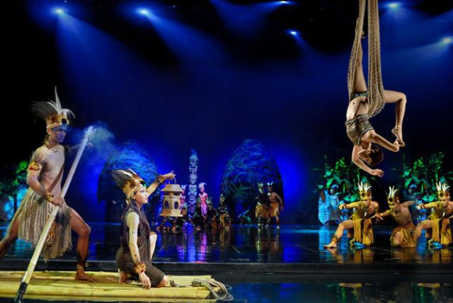 Devdan show на Бали