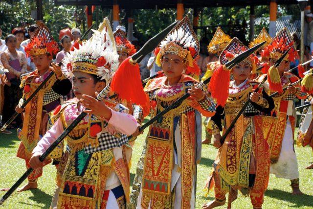 Танец Барис на Бали
