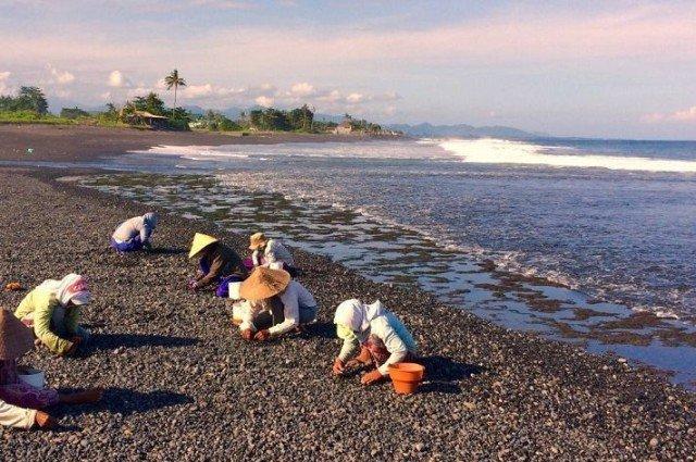 Пляж Керамас на Бали