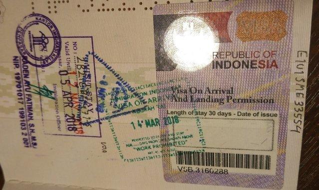 Как продлить визу на Бали