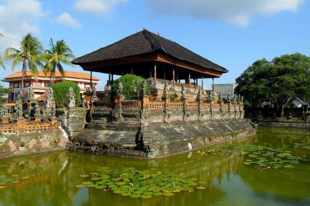 Taman Kertha Gosa на Бали
