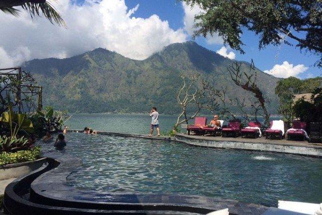 Горячие источники на Бали