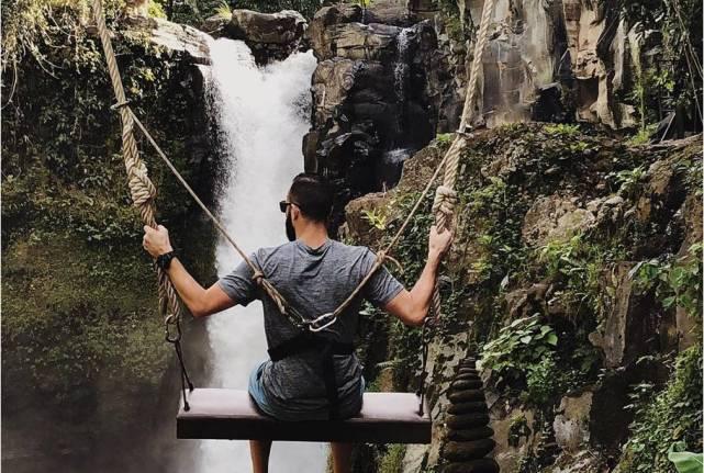 Водопад Тегенунган на Бали