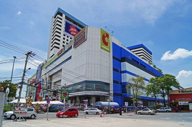 Район возле магазина Биг Си