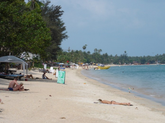 Пляжи на самуи с белым песком