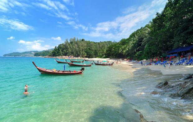 Пляжи тайланда с белым песком