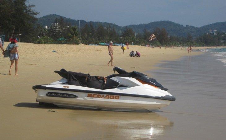 Развлечения на пляже Карон