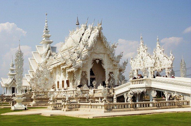Белый храм в Тайланде – описание, фото, как добраться