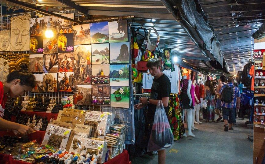 Ночной рынок на Пхукете