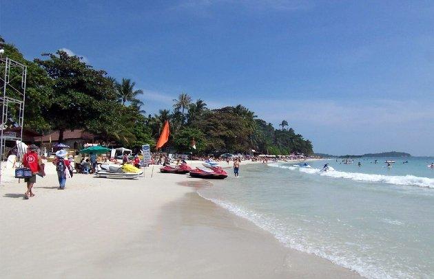 Пляж Чавенг на Самуи