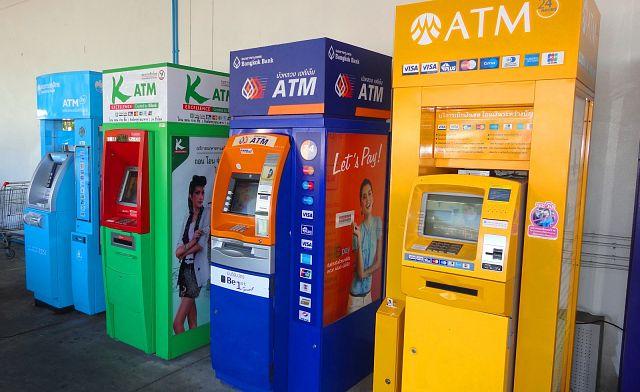 Как снять деньги в Тайланде