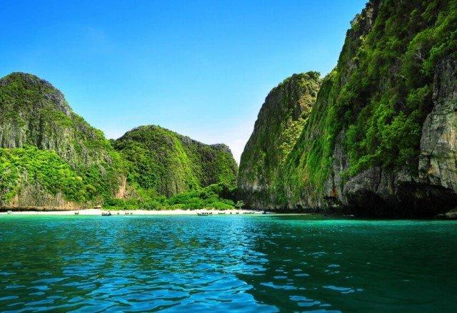 Острова Пхи Пхи в Тайланде