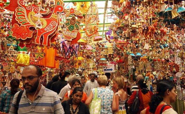 Индийский рынок Пхахурат Бомбей