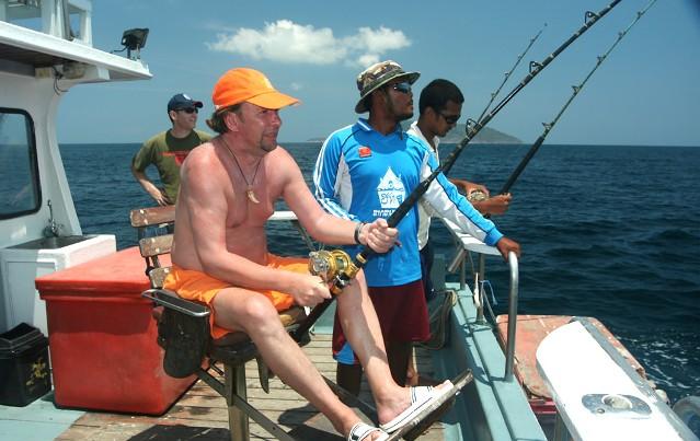 Рыбалка на острове Самуи