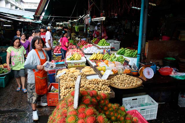 рынок Klong Toi Fresh