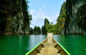 Озеро Чео Лан в Таиланде