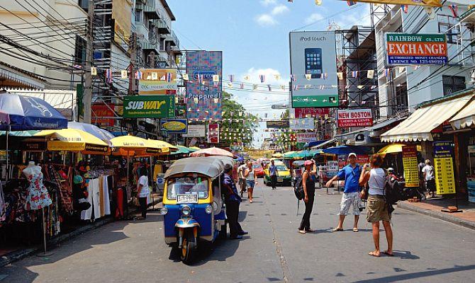 Район Банглампу в Бангкоке