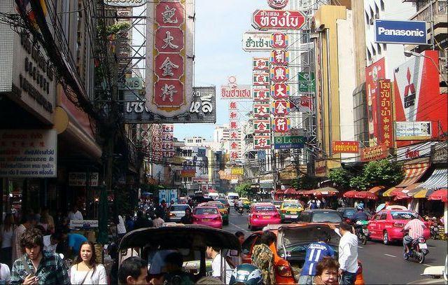 Район Чайна Таун в Бангкоке