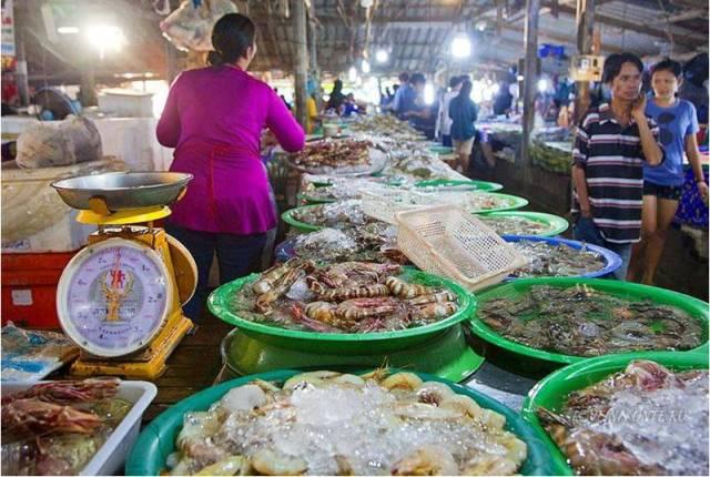 Рыбный рынок на Самуи