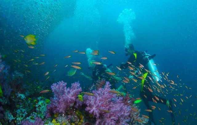 Коралловый остров в Таиланде