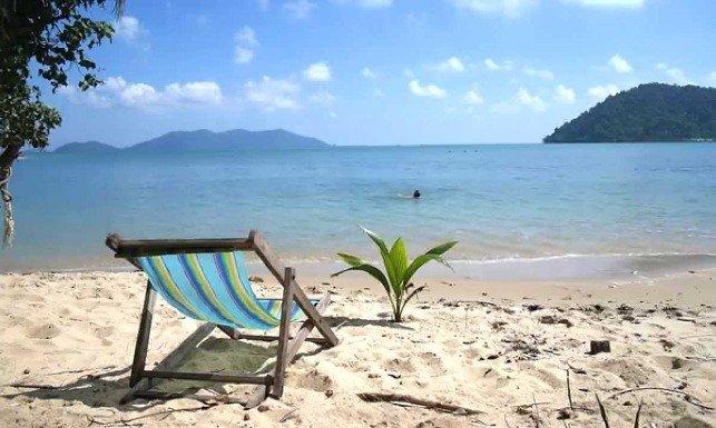 Море в Тайланде в ноябре
