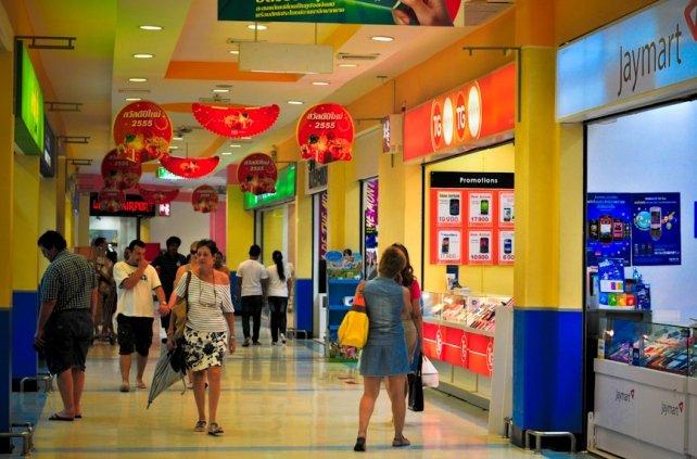 Магазины на острове Самуи