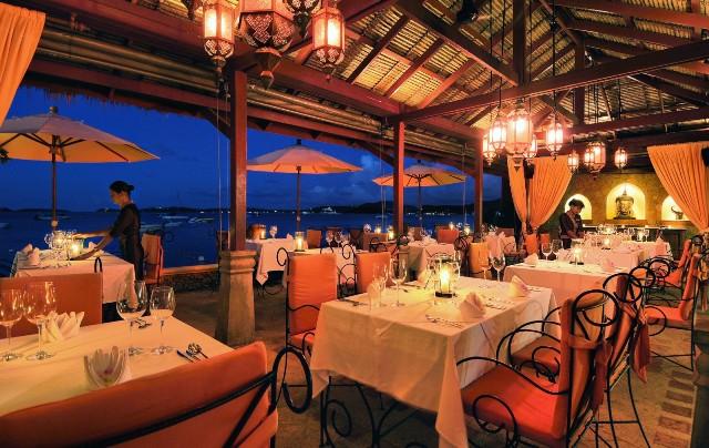 Ресторан Zazen на Самуи