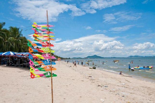 Пляж Банг Саен в Тайланде