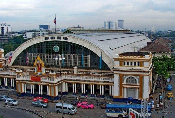 Ж/д вокзал в Бангкоке