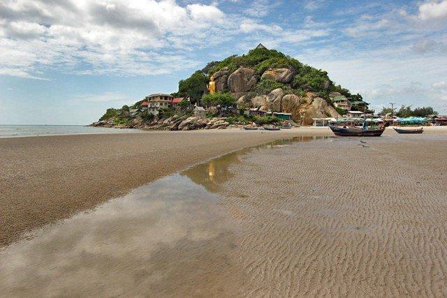 пляж Као такиаб в Тайланде