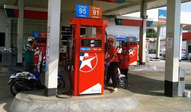 Сколько стоит бензин в тайланде
