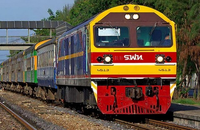 Железная дорога в Тайланде