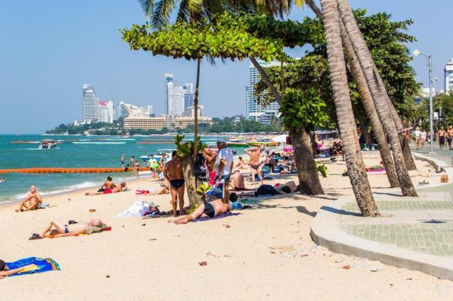 Пляж Паттайя в Паттайе