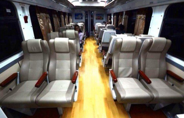 Поезд в Тайланде 2 класса