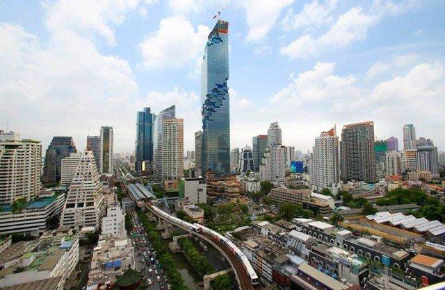 Смотровая площадка Maha Nakhon в Бангкоке