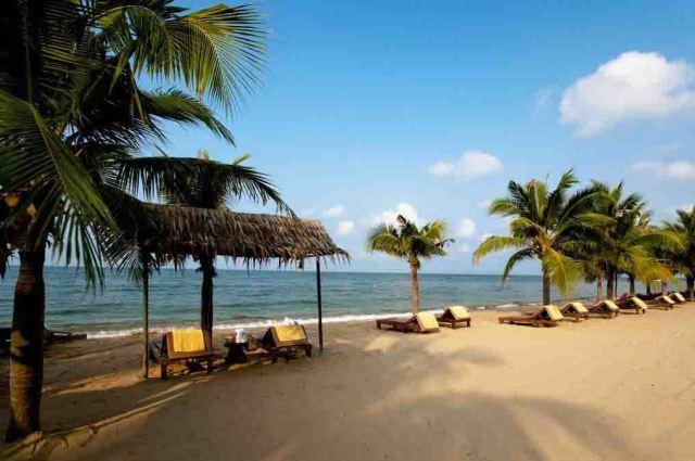 пляжи Паттайи в мае