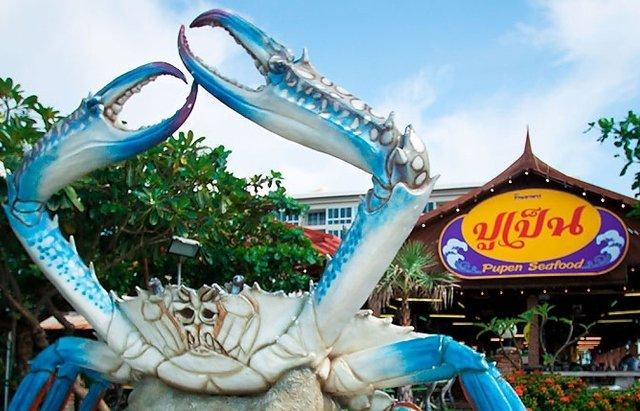Ресторан Pupen seafood в Паттайе