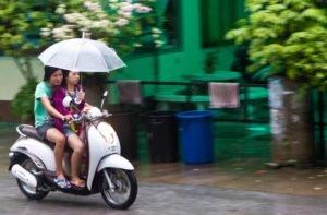 Сезон дождей в Паттайе