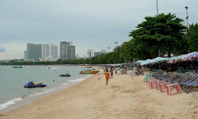 Пляжи Паттайи в июне