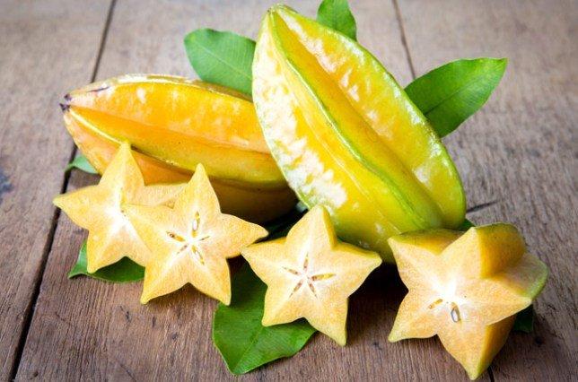 Карамбола или звездный фрукт: состав и польза для здоровья