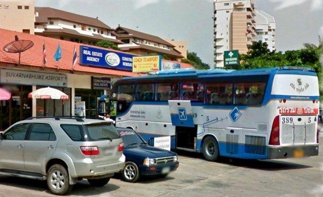 Южный автовокзал в Паттайе