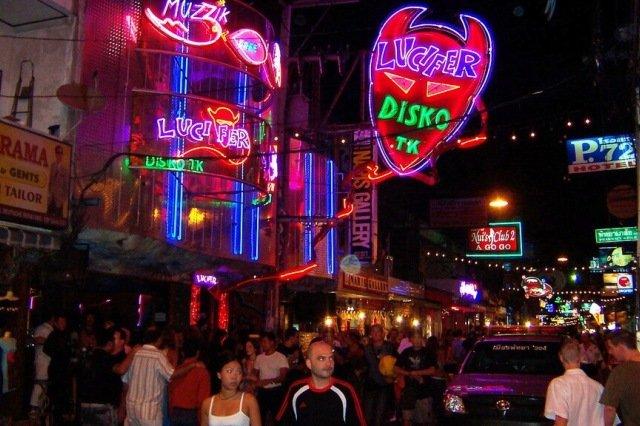 Ночной клуб Lucifer в Паттайе