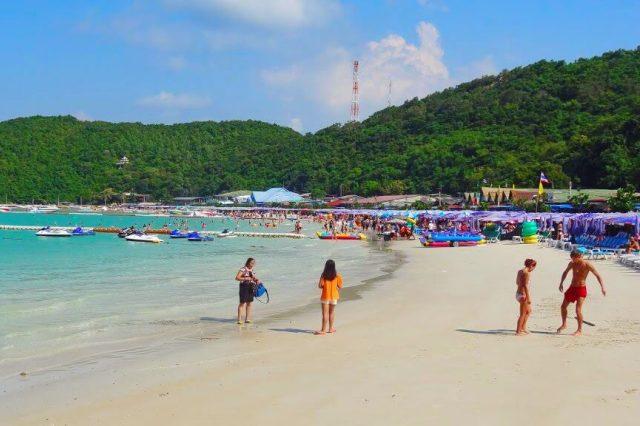 Пляж Таваен на Ко Лане