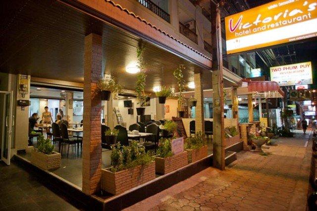 Ресторан Виктория в Паттайе