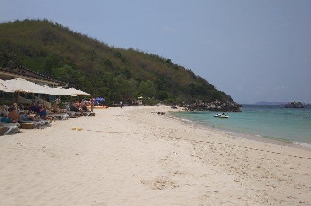 Пляж Таяй на Ко Лане