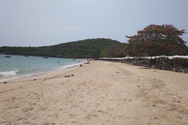 Обезьяний пляж на Ко Лане