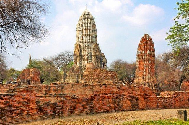 Аюттайя Wat Ratcha Burana