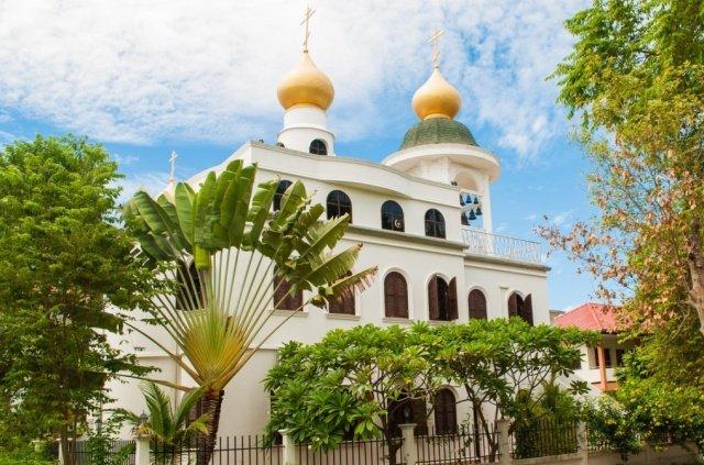 Православный храм в Паттайе