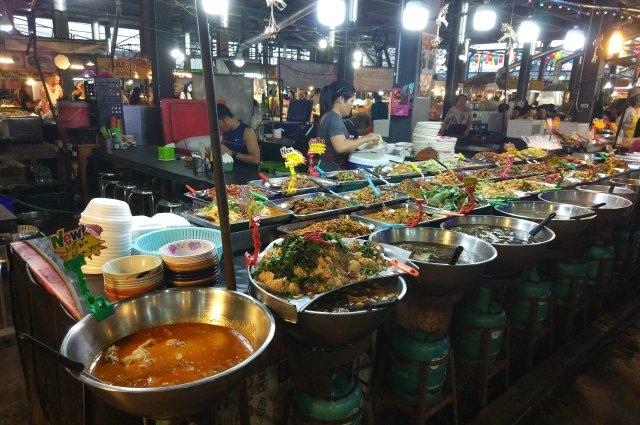 Рынок Тепразит в Паттайе