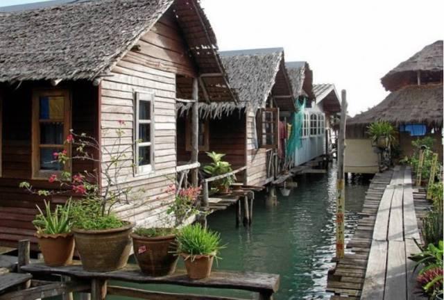 Деревня Банг Бао на Ко Чанге